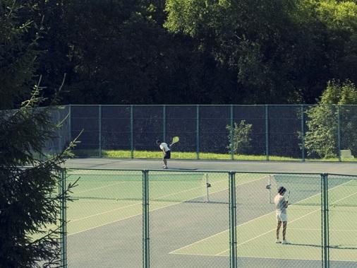 サンタリゾートホテル テニスコート