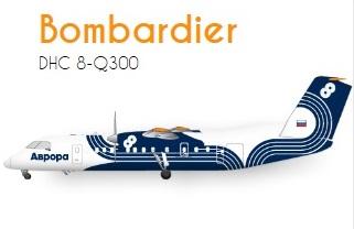 Aurora Bombardier DHC8-Q300