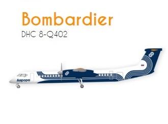 Aurora Bombardier DHC8-Q402